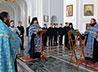 Молебен на начало учебного года отслужили в Крестовоздвиженском соборе