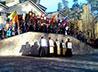 Экспедиция «Славянский ход» побывала в монастыре на Ганиной Яме