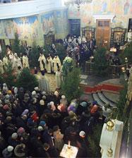 Общегородские Рождественские богослужения пройдут в Свято-Троицком кафедральном соборе