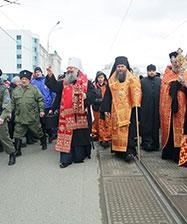 В Светлое Христово воскресение митрополит Кирилл возглавит праздничные богослужения и общегородской Пасхальный крестный ход