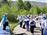 «Доброе лето» с морским флэшмобом организовали для детей в Серовской епархии