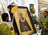 В Екатеринбург прибыла икона преподобного Сергия Радонежского с частицей его святых мощей