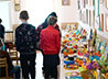 Школьники Первоуральска посетили выставку «Пасха Красная» и позвонили в колокола