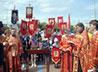 Летние каникулы в храме на Семи Ключах начались с молебна у часовни св. Екатерины