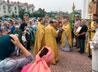Жители Краснолесья встретили свой престольный праздник праздничным богослужением