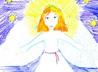 Дети Богородице-Владимирского храма рисуют ангелов
