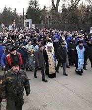 Около 6 000 человек человек приняло участие в праздничном крестном ходе