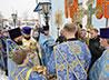 Жители Карпинска отметили престольный праздник Казанского храма всем миром
