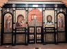 В храме п. Воронцовка установили новый иконостас и паникадило