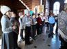 Школьников г. Тавды ознакомили с архитектурными особенностями православного храма