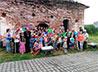 Участники исторического фестиваля поучаствуют в восстановлении храмов