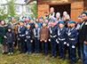 Десантников Верхнего Тагила поздравили благодарственным молебном в часовне Ильинского парка
