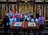 В воскресной школе при женском монастыре целителя Пантелеимона состоялись первые уроки Закона Божия