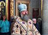 Митрополит Кирилл возглавил Литургию в Храме-на-Крови перед чудотворным образом Курской-Коренной иконы Божией Матери «Знамение»