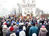 Около трех тысяч горожан приняли участие в Крестном ходе в честь св. вмч. Екатерины
