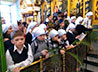 В Вербное воскресенье в архиерейской Литургии примут участие дети со всей митрополии