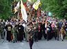 6 июля прихожане храма Преображения Господня совершили крестный ход до монастыря на Ганиной Яме