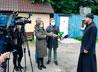 Участников пресс-тура впечатлили произошедшие в Успенском соборе перемены