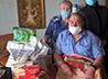 Для пожилых прихожан организовали продуктовые подарки
