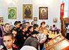 Суворовцы посетили храм во имя св. вмч. Георгия Победоносца
