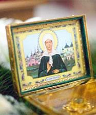 Икона св. Матроны Московской с частицей ее мощей пробудет в Свято-Троицком кафедральном соборе Екатеринбурга до 10 декабря