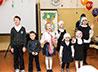 Концертом и выставкой рисунков поздравили мам юные прихожане храма преп. Максима Исповедника