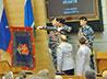 Секретарь Екатеринбургской епархии принял участие в торжественной церемонии вручения знамени ГУ МВД России по Свердловской области