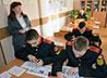 Открытый урок о миротворческой миссии провели в Суворовском военном училище