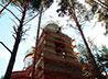 Колокольню строящегося храма во имя святителя Луки подготовили к покраске