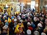 Икона свв. Сергия Радонежского и Серафима Саровского с частицами их мощей появилась в храме на Семи Ключах