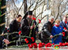 Епископ Среднеуральский Евгений принял участие в возложении венков к памятнику маршалу Победы Г.К. Жукову