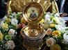 Отныне в храме св. Александра Невского будет храниться частица мощей св. Евфросинии Московской