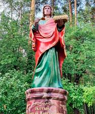 Шестиметровая фигура святого врача установлена у храма целителя Пантелеимона в Екатеринбурге