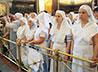 За архиерейской службой встретились все сестричества Екатеринбургской митрополии