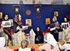 Историческую реконструкцию провели для воспитанников Казанского монастыря