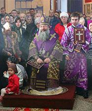 Расписание богослужений митрополита Екатеринбургского и Верхотурского Кирилла на первую седмицу Великого поста