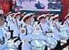 Курсанты Екатеринбургского военного училища приняли участие в параде войск ЦВО