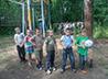 Июнь для ребят из паломническо-трудового лагеря «Ежик» запомнился благими делами