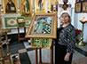 Сергиево-Елисаветинскому храму Екатеринбурга дети подарили вышитую икону прп. Сергия Радонежского