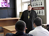 Священнослужитель провел беседу для сотрудников уголовного розыска