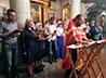 Семейный молебен совершат в Храме-на-Крови в День влюбленных