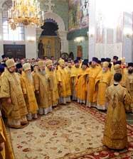 В день 135-летия Екатеринбургской епархии в Храме на Крови совершена праздничная архиерейская Божественная литургия
