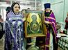В храм Космы и Дамиана при ОКБ №1 прибыла икона Божией Матери «Знамение» Верхнетагильская