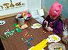 В воскресной школе «Благовест» активизировалась кружковая работа: дети готовятся к Пасхе