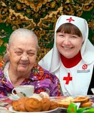 «Верим. Действуем!»: со Службой милосердия помогаем немощным людям на дому