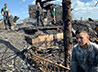 Члены «Успенского братства» помогли чимеевскому приходу разобрать пожарище