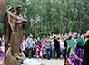 В Заречном открыли памятник свв. Петру и Февронии