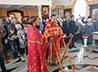 Несколько десятков прихожан Никольского храма при Горном университете дали обет трезвости