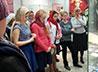 Воспитанники Вознесенского архиерейского подворья посетили выставку «Время Каина»