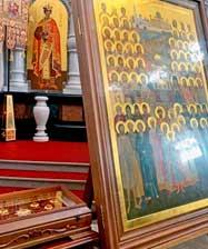 Ковчег Екатеринбургских святых изготовлен к 135-летию Екатеринбургской епархии